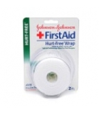 "Johnson & Johnson First Aid Hurt Free Wrap 2""x 2.3 Yards"