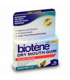 Biotene Dry Mouth Gum, Sugar Free Mint - 16 pieces**MFG DISCONTINUED 2/17/14