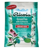 Ricola Throat Drops Green Tea With Echinacea Sugar Free 19 ct