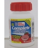 GNP Complete Acid Reducer Plus Antacid - Berry Flavor 40 Tablets