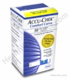 Accu-Chek Comfort Curve Diabetic Test Strips - 50 Strips***MFG DISCONTINUED 3/31/14