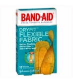 Band-Aid Dry Fit Flexible Fabric Assorted Sizes - 17