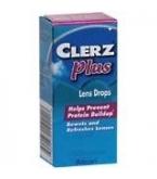 Clerz Plus Lens Drops - 8ml Bottle (0.27oz)