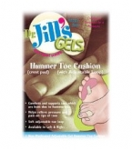 Dr. Jill's Hammer Toe Cushion Crest Pad with Adjustable Loop - Left Side - 1 Count Box