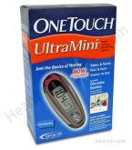 OneTouch UltraMini Diabetes Blood Glucose Monitoring System - Pink Glow