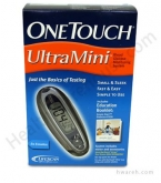 OneTouch UltraMini Diabetes Blood Glucose Monitoring System - Silver Moon