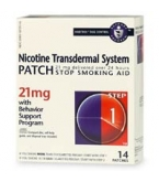 Nicotine Patch (Generic) 21mg 14/Box