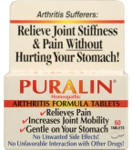 Puralin Homeopathic Arthritis Formula - 60 Tablets*****ONLY 1 LEFT IN STOCK