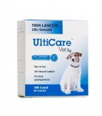 UltiCare Vet Rx Thin Lancets, 26 Gauge - 100 Count