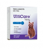 UltiCare Vet Rx Thin Lancets, 28 Gauge - 100 Count