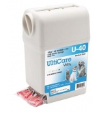 "UltiGuard UltiCare VetRx U-40 Insulin Syringe & Container - 29 Gauge, 1/2cc, 1/2"" - 100 Count Box"