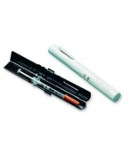 Wright Prefilled Syringe Case Black/White 1-Each