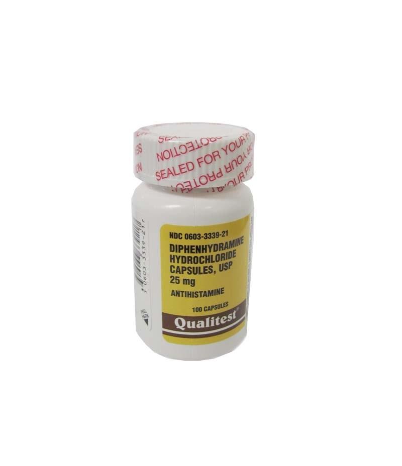 benadryl capsule 25mg