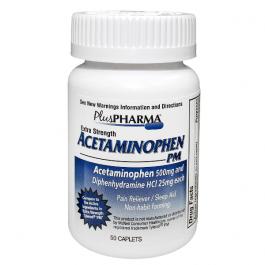 Acetaminophen PM (500mg) - 50 Caplets