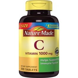 Nature Made Vitamin C 1000 mg Tablets 300ct
