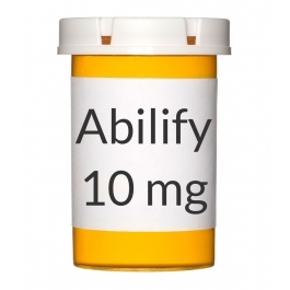 Abilify 10mg Tablets - 30 Count Bottle