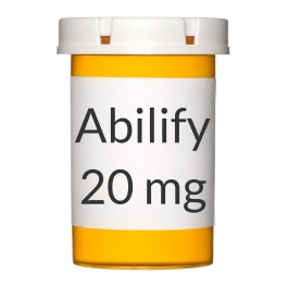 Abilify 20mg Tablets - 30 Count Bottle