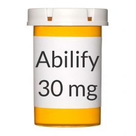Abilify 30mg Tablets - 30 Count Bottle