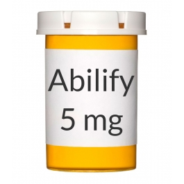 Abilify 5mg Tablets - 30 Count Bottle