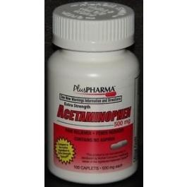 Acetaminophen 500mg Caplets- 100ct