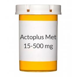Actoplus Met 15-500mg Tablets