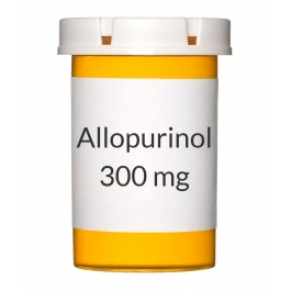 Allopurinol 300mg Tablets