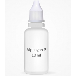 Alphagan P 0.1% Ophthalmic Solution - 10ml Bottle