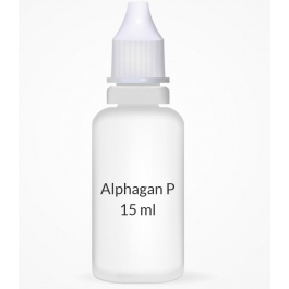 Alphagan P 0.1% Ophthalmic Solution - 15ml Bottle
