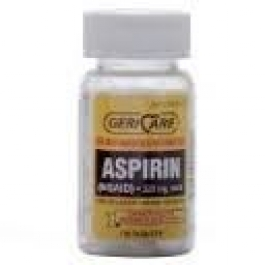 Aspirin (325mg) - 100 Tablets