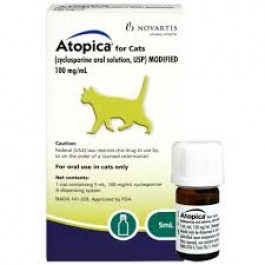 Atopica for Cats- 5ml***Special Order - Processing Time 7 - 10 Days***