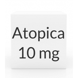 Atopica 10mg Capsules(4 to 9 lbs) -15 Count Box(Green)