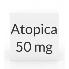 Atopica 50mg Capsules(16 to 33 lbs)-15 Count Box(Purple)