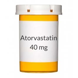 Atorvastatin 40 mg Tablets