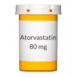 Atorvastatin 80 mg Tablets