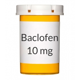Baclofen 10mg Tablets