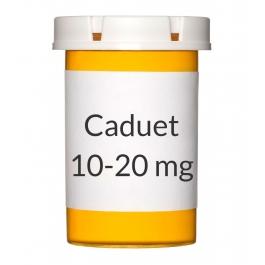 Caduet 10-20mg Tablets, 30 Count Bottle