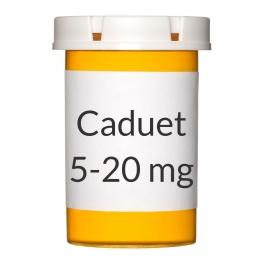 Caduet 5-20mg Tablets, 30 Count Bottle