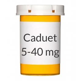 Caduet 5-40mg Tablets, 30 Count Bottle
