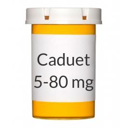Caduet 5-80mg Tablets, 30 Count Bottle