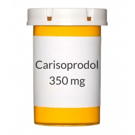 Carisoprodol (Generic Soma) 350 mg Tablets