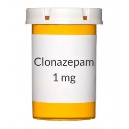 Clonazepam (Generic Klonopin) 1mg Tablets