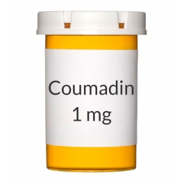 Coumadin 1mg Tablets