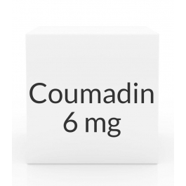 Coumadin 6mg Tablets