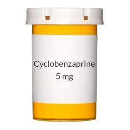 Cyclobenzaprine 5mg Tablets