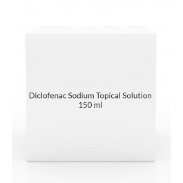 Diclofenac Sodium Topical Solution 1.5% (150ml bottle)
