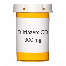 Diltiazem CD 300mg Capsules