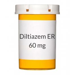 Diltiazem ER 12HR 60mg Capsules***Manufacturer Backorder - ETA 03/12/2019***
