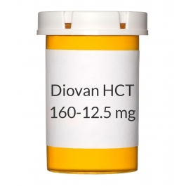 Diovan HCT 160-12.5mg Tablets