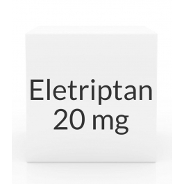 Eletriptan 20mg - 6 Tablet Pack