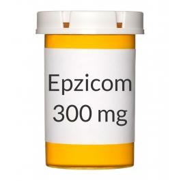 Epzicom 600-300 mg Tablets - 30 Count Bottle